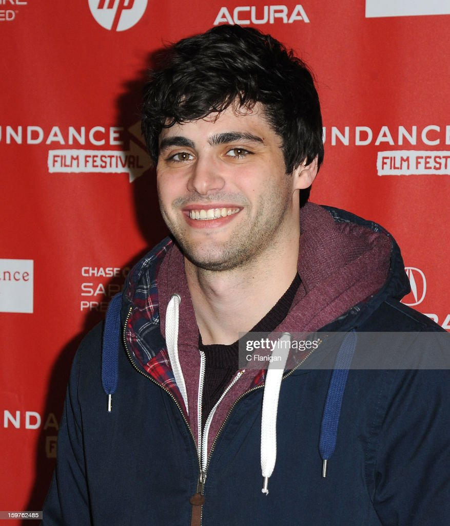 Matthew Daddario attends the 'Breathe In' premiere at Eccles Center Theatre during the 2013 Sundance Film Festival on January 19, 2013 in Park City, Utah