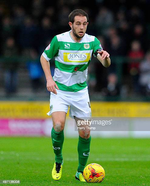 Matthew Dolan of Yeovil Town during the Sky Bet League Two match between Yeovil Town and Stevenage at Huish Park on November 14 2015 in Yeovil England