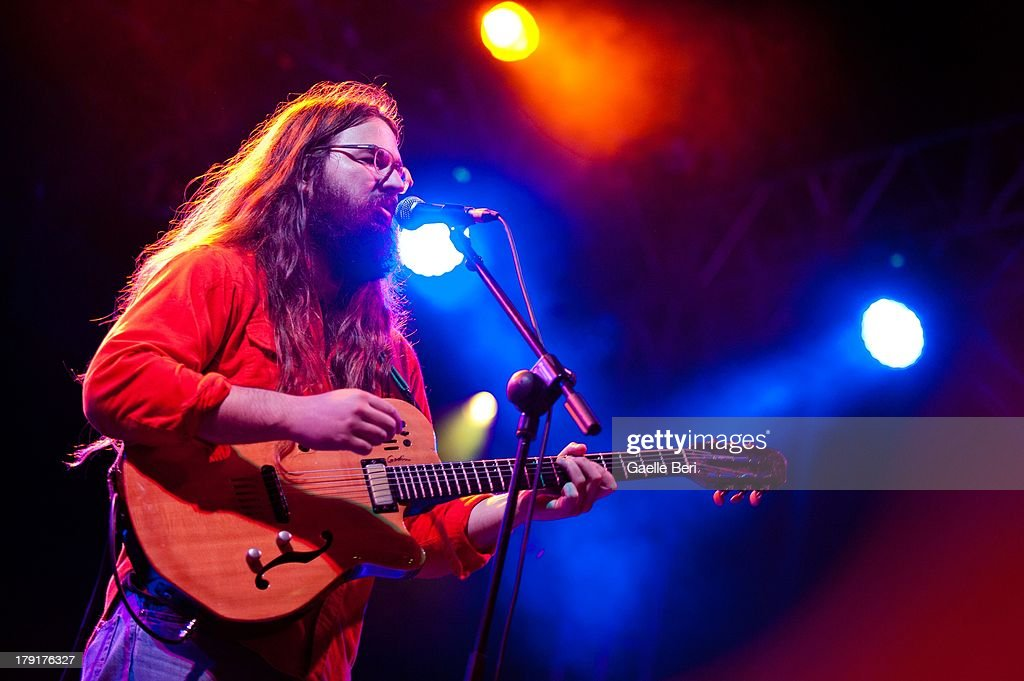 Matthew E. White performs on stage on Day 2 of Electric Picnic Festival 2013 at Stradbally Hall Estate on August 31, 2013 in Dublin, Ireland.