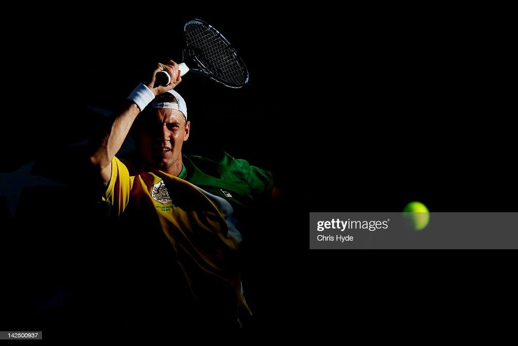 Australia v Korea - Davis Cup: Asia Oceania Zone Second Round - Day 1