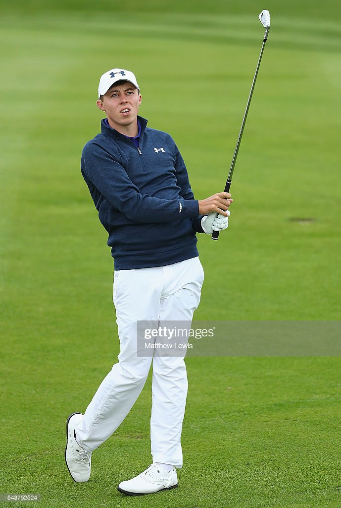 <a gi-track='captionPersonalityLinkClicked' href=/galleries/search?phrase=Matthew+Fitzpatrick+-+Golfer&family=editorial&specificpeople=8019521 ng-click='$event.stopPropagation()'>Matthew Fitzpatrick</a> of England in action during day one of the 100th Open de France at Le Golf National on June 30, 2016 in Paris, France.