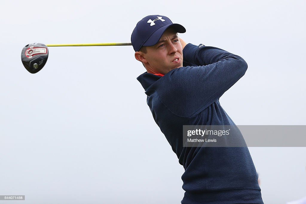 <a gi-track='captionPersonalityLinkClicked' href=/galleries/search?phrase=Matthew+Fitzpatrick+-+Golfer&family=editorial&specificpeople=8019521 ng-click='$event.stopPropagation()'>Matthew Fitzpatrick</a> of England tees off during day two of the 100th Open de France at Le Golf National on July 1, 2016 in Paris, France.