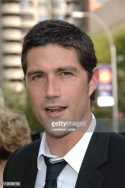 Matthew Fox during 2007 ABC Network UpFront at Lincoln Center in New York City New York United States