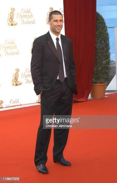 Matthew Fox during 45th Monte Carlo Television Festival Closing Award Ceremony at Grimaldi Forum in Monte Carlo Monaco