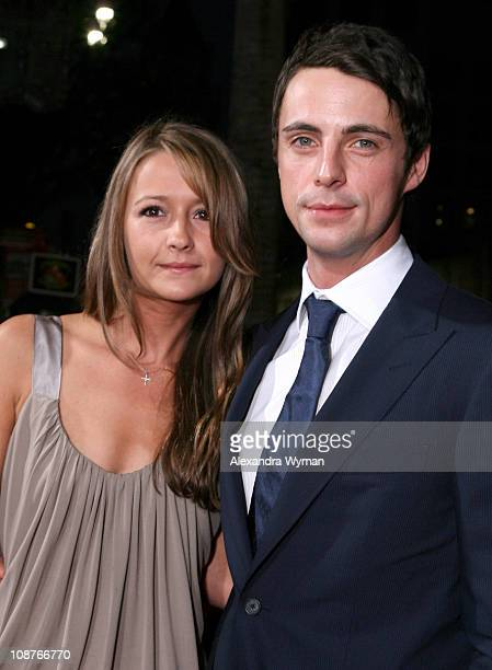 Matthew Goode and guest during 'The Lookout' Los Angeles Premiere Red Carpet at Egyptian Theater in Los Angeles California United States