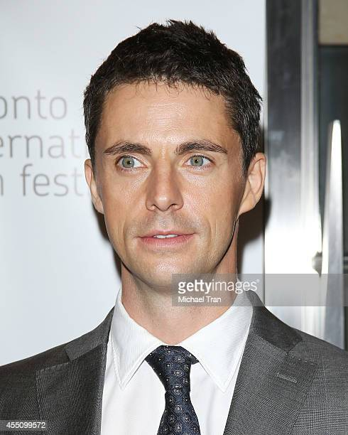 Matthew Goode arrives at the premiere of The Imitation Game held during the 2014 Toronto International Film Festival Day 6 held on September 9 2014...