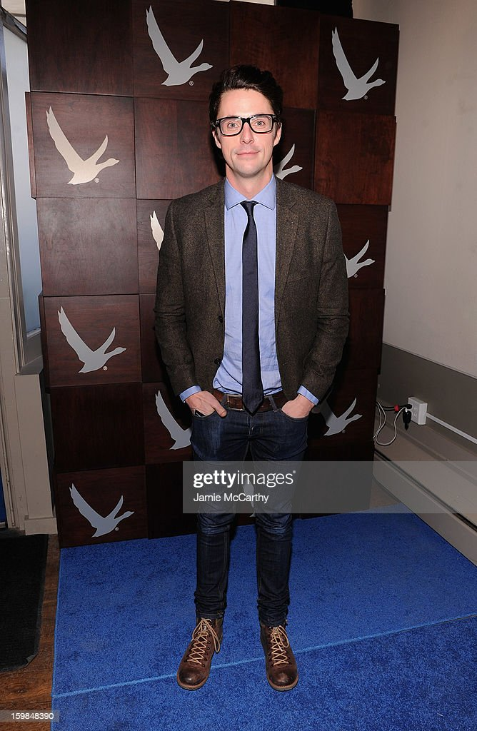 Matthew Goode at Grey Goose Blue Door on January 21, 2013 in Park City, Utah.