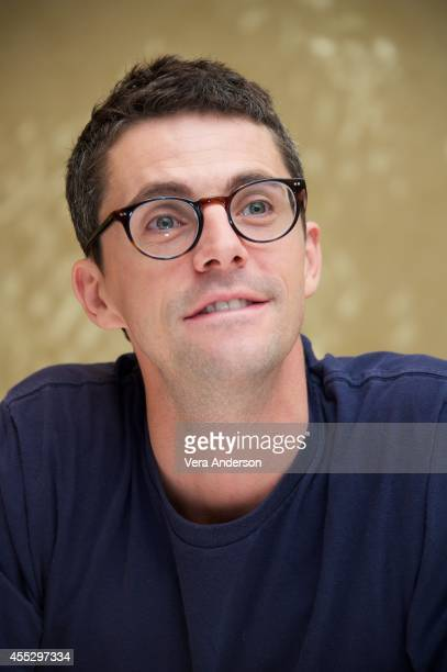 Matthew Goode at 'The Imitation Game' Press Conference at The Fairmont Royal York Hotel on September 10 2014 in Toronto Ontario