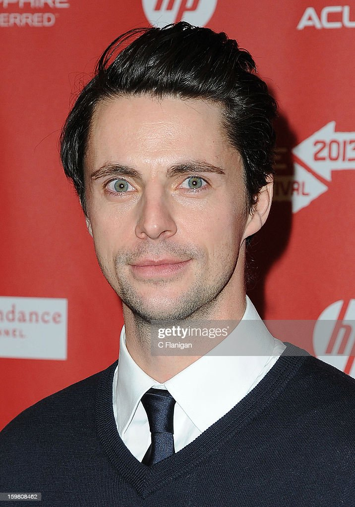 Matthew Goode attends the 'Stoker' Premiere at Eccles Center Theatre on January 20, 2013 in Park City, Utah.