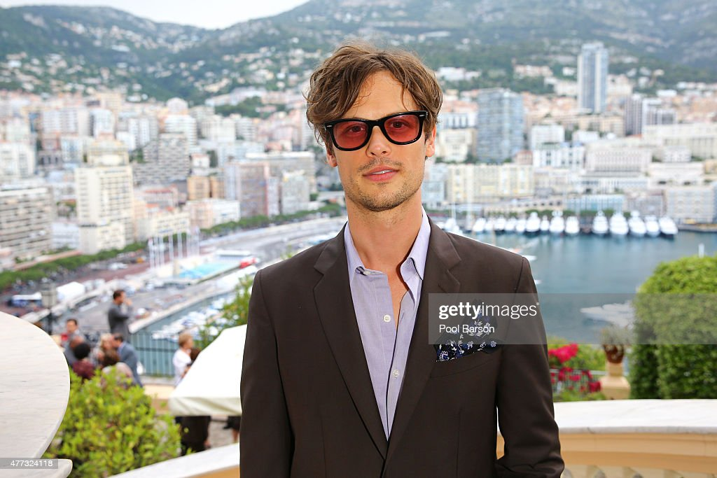 Matthew Gray Gubler attends Cocktail & Reception at the Ministere d'Etat on June 15, 2015 in Monte-Carlo, Monaco.