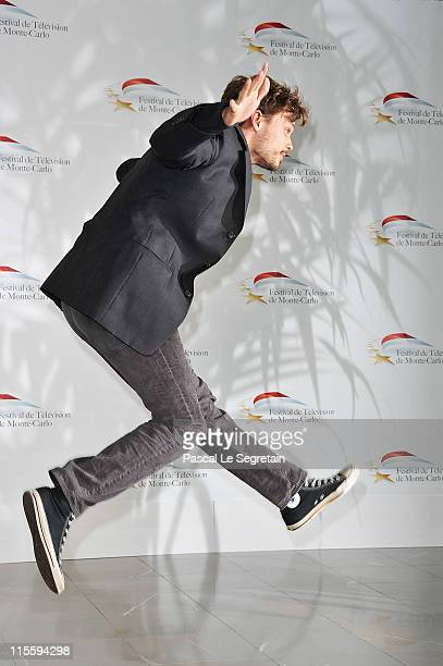 Matthew Gray Gubler attends 'Criminal Minds' photocall during the 51st Monte Carlo TV Festival at the Grimaldi forum on June 8 2011 in Monaco Monaco