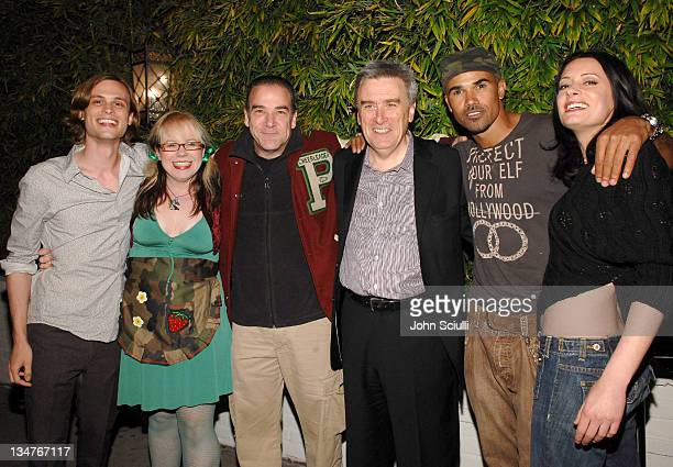 Matthew Gray Gubler Kristen Vangsness Mandy Patinkin Ian Birch EditorInChief TV Guide Magazine Shemar Moore and Paget Brewster