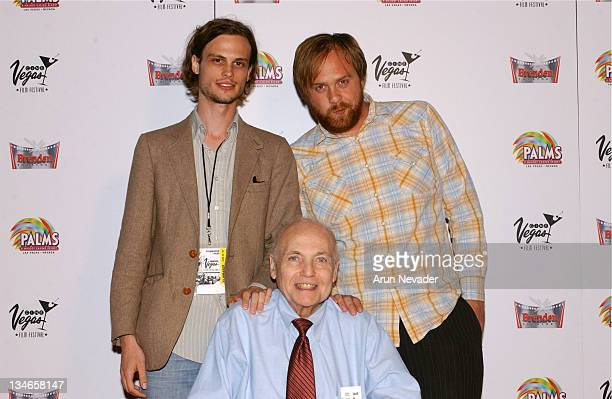 Matthew Gray Gubler writer/director Brad Lawrence and Ryan Pardey