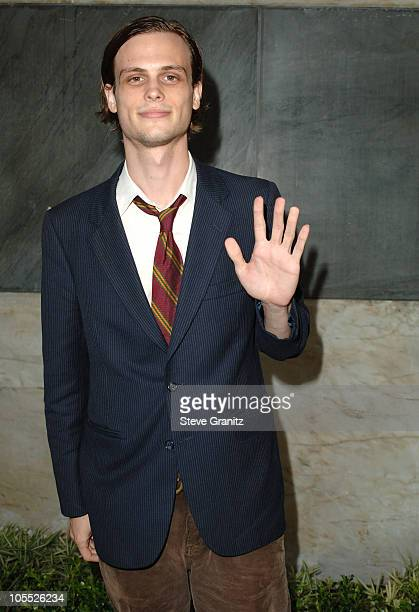 Matthew Gubler during CBS Summer 2005 Press Tour Party Arrivals at Hammer Museum in Westwood California United States
