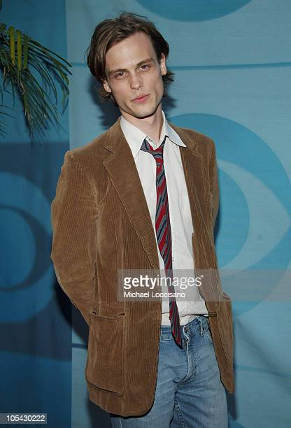 Matthew Gubler Starring in 'Criminal Minds' during 2005/2006 CBS Prime Time UpFront at Tavern on the Green Central Park in New York City New York...