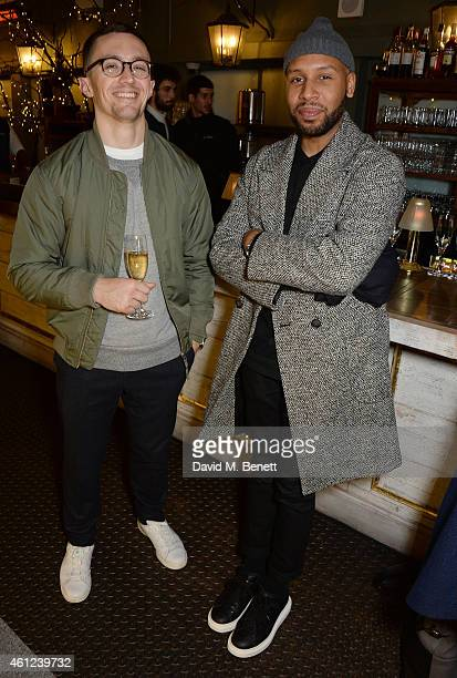 Matthew Henson attends a dinner to celebrate LCM and the exclusive launch of Nick Wooster's fashion line Wooster Lardini at Selfridges on January 9...