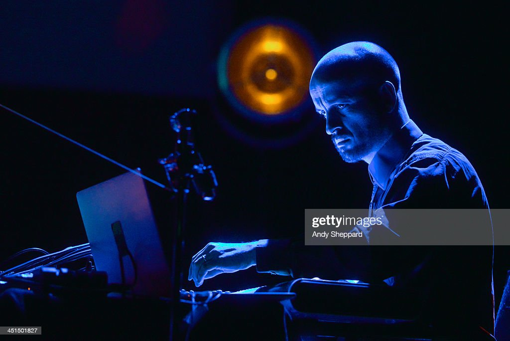 Matthew Herbert performs on stage at Queen Elizabeth Hall during day 8 of London Jazz Festival 2013 on November 22, 2013 in London, United Kingdom.
