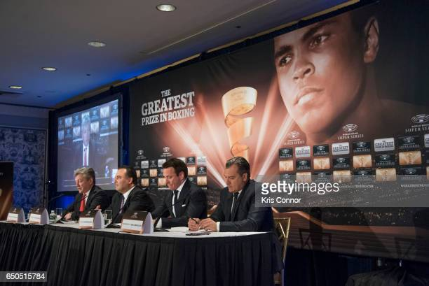 Matthew Hooper Executive Vice President of Modern Times Group Richard Schaefer Comosa's Chairman of the Americas Kalle Sauerland Comosa's Chief...
