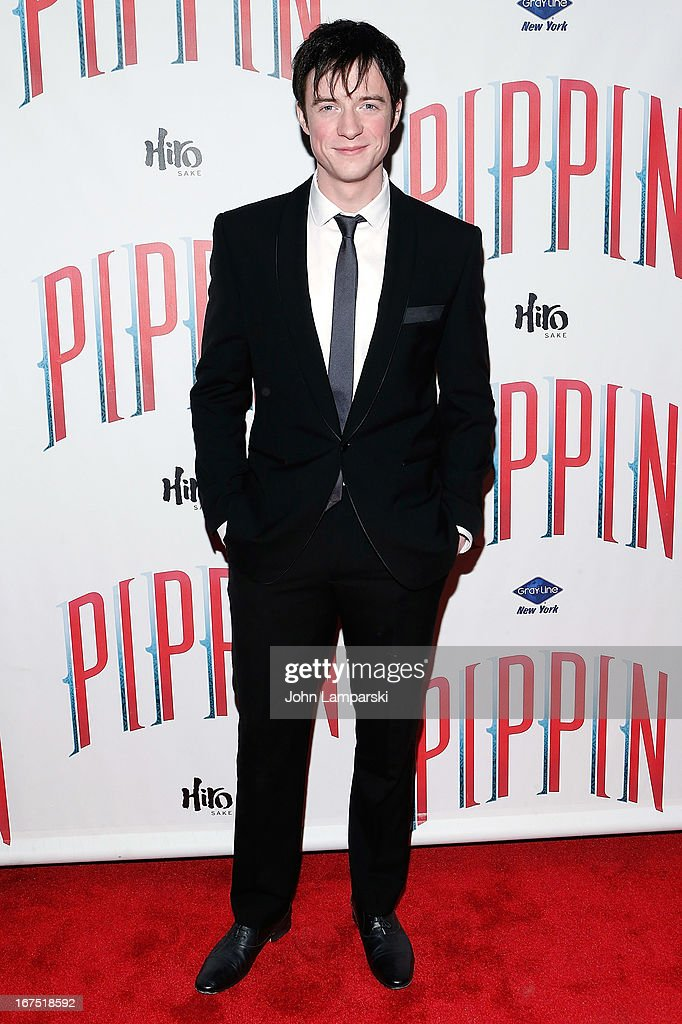 Matthew James attends the after party for the Broadway opening night of 'Pippin' at Slate on April 25, 2013 in New York City.