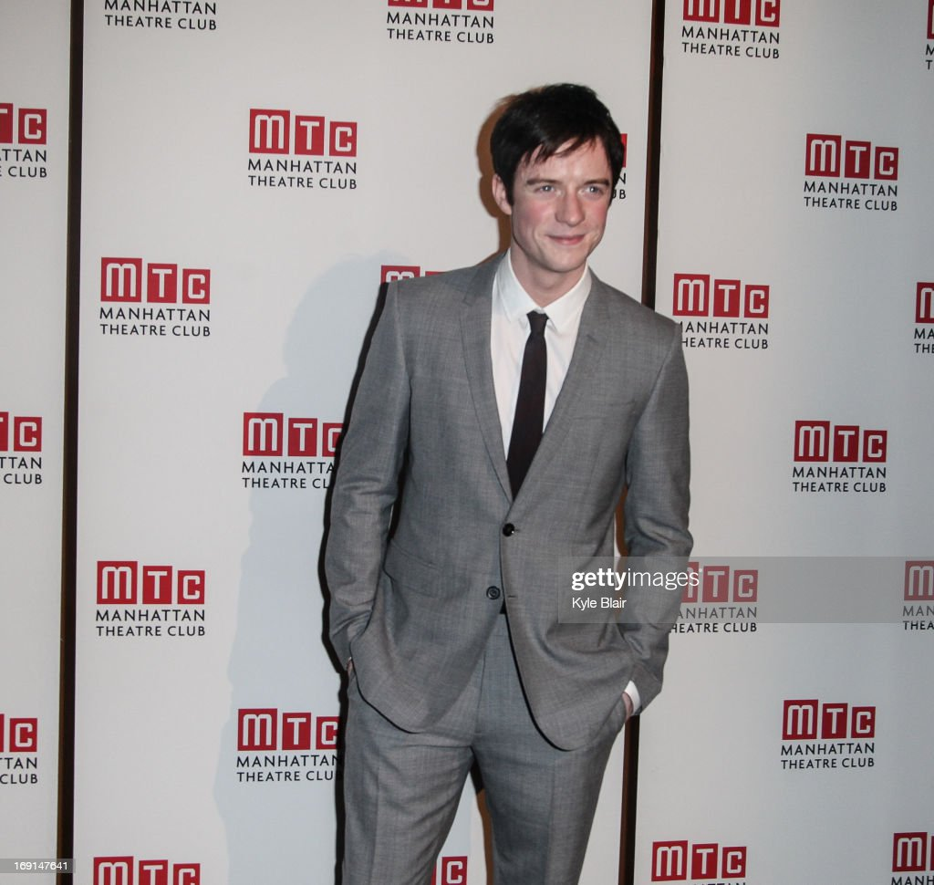 Matthew James Thomas attends the Manhattan Theatre Club 2013 Spring Gala at Cipriani 42nd Street on May 20, 2013 in New York City.