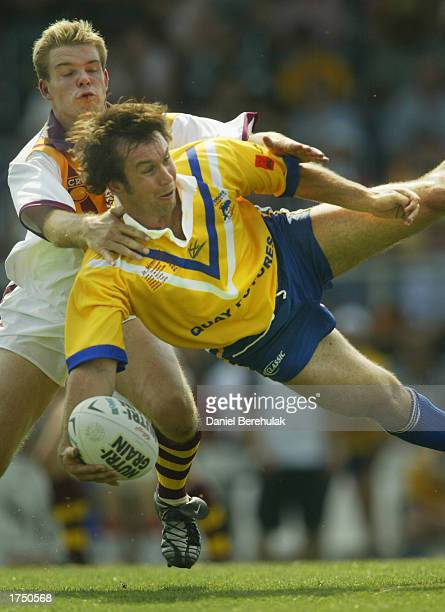 Matthew Johns of the Coogee Dolphins in action during the Rugby League Sevens trial match between the Coogee Dophins and Country at the Western...