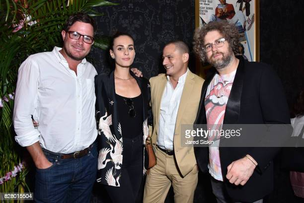 Matthew Kehle Sophie Auster John Ortved and Matthew Makar attend Neon hosts the after party for the New York Premiere of 'Ingrid Goes West' at Alamo...
