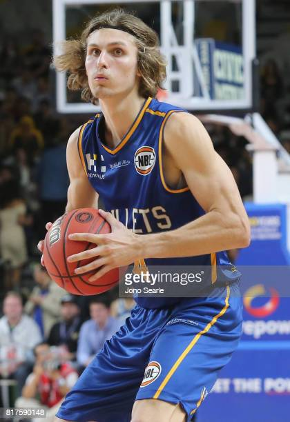Matthew Kenyon during the match between the Brisbane Bullets and China at the Gold Coast Sports Leisure Centre on July 18 2017 in Gold Coast Australia