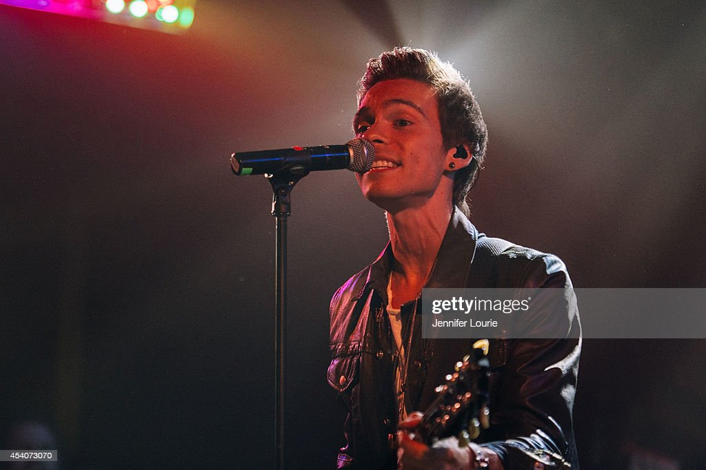 Matthew Koma performs at 'One Night In Los Angeles' presented by Perez Hilton at The Troubadour on August 23, 2014 in Los Angeles, California.