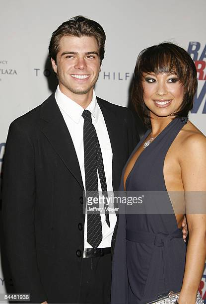 Matthew Lawrence and Cheryl Burke