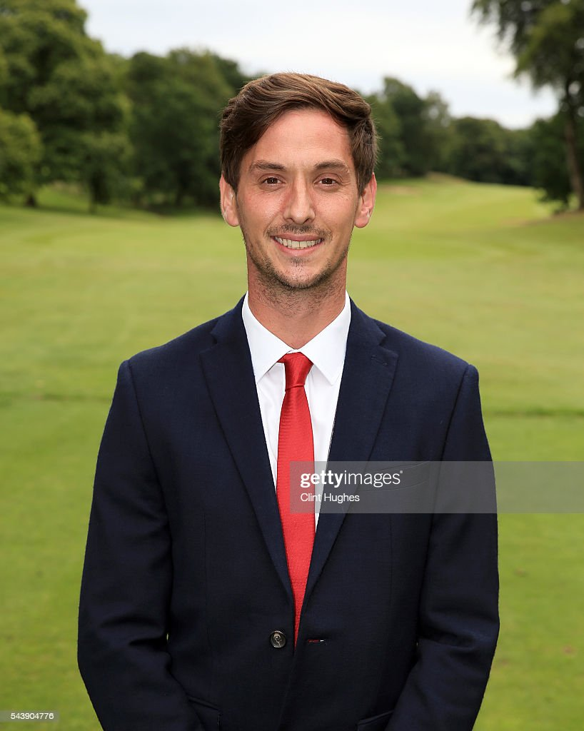Matthew Leach of Hartford Golf Club poses for a photo after winning the PGA National Pro-Am North Qualifier at Dunham Forest Golf Club on June 30, 2016 in Altrincham, England