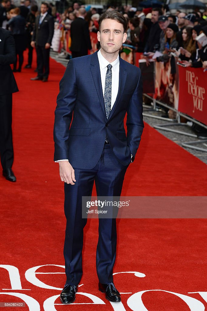 <a gi-track='captionPersonalityLinkClicked' href=/galleries/search?phrase=Matthew+Lewis+-+Acteur&family=editorial&specificpeople=7939877 ng-click='$event.stopPropagation()'>Matthew Lewis</a> attends the European film premiere 'Me Before You' at The Curzon Mayfair on May 25, 2016 in London, England.