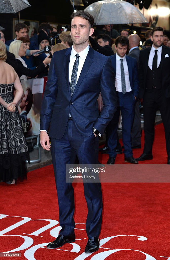 <a gi-track='captionPersonalityLinkClicked' href=/galleries/search?phrase=Matthew+Lewis+-+Actor&family=editorial&specificpeople=7939877 ng-click='$event.stopPropagation()'>Matthew Lewis</a> attends the European film premiere 'Me Before You' at The Curzon Mayfair on May 25, 2016 in London, England.