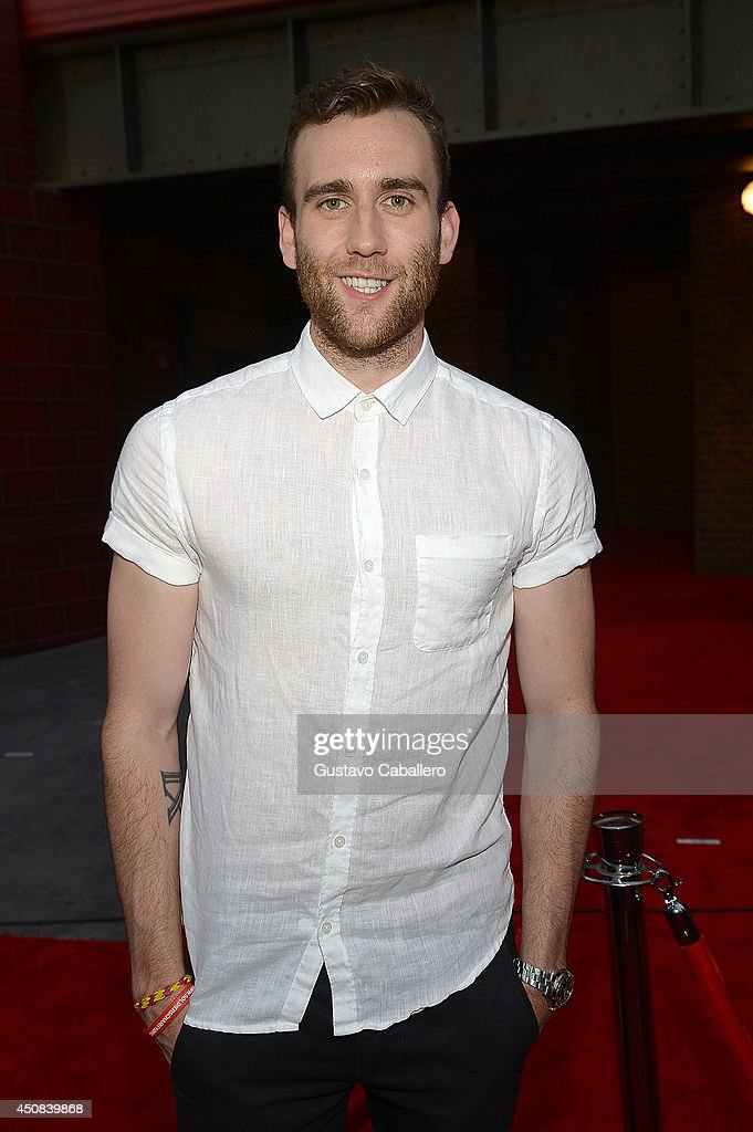 Matthew Lewis attends The Wizarding World of Harry Potter Diagon Alley Grand Opening at Universal Orlando on June 18, 2014 in Orlando, Florida.