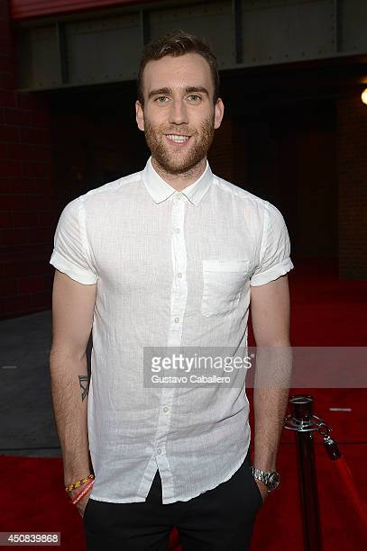 Matthew Lewis attends The Wizarding World of Harry Potter Diagon Alley Grand Opening at Universal Orlando on June 18 2014 in Orlando Florida