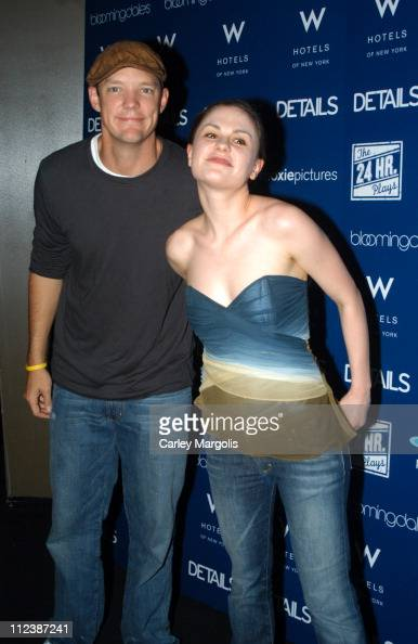 Matthew Lillard and Anna Paquin during 4th Annual New York Benefit of The 24 Hour Plays at The Whiskey at W Times Square in New York City New York...