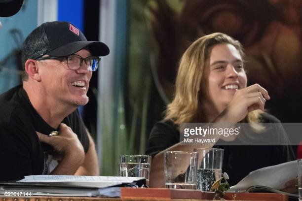 Matthew Lillard and Dylan Sprouse help unveil the new Dungeons Dragons storyline 'Tomb of Annihilation' during a live streaming event at The House...