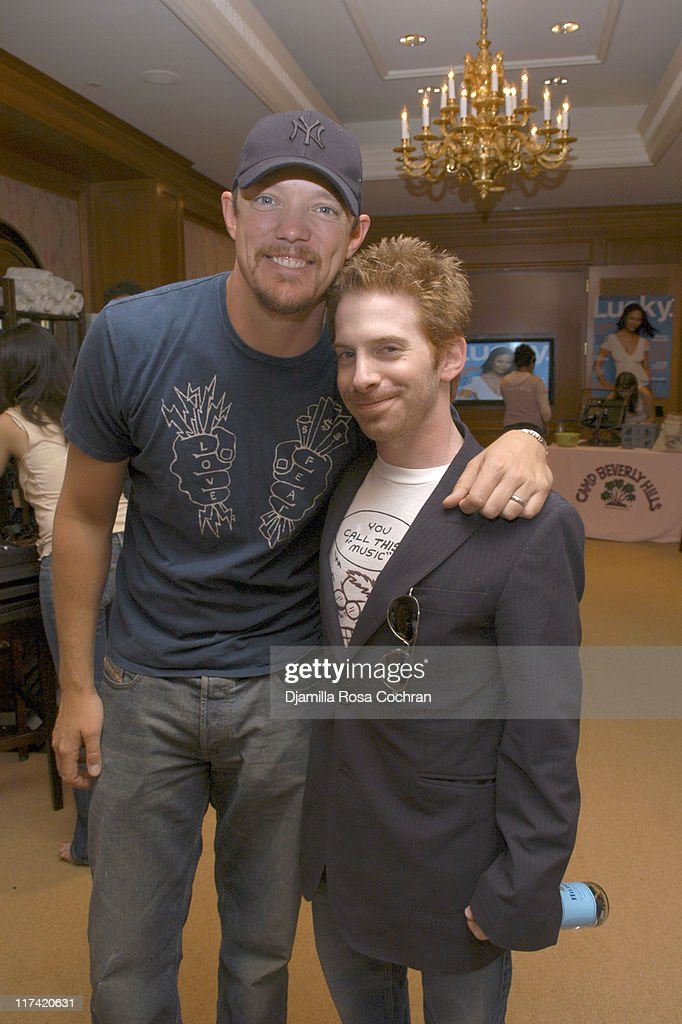 Matthew Lillard and Seth Green during Lucky/Cargo Club Day 1 at Ritz Carlton in New York City New York United States