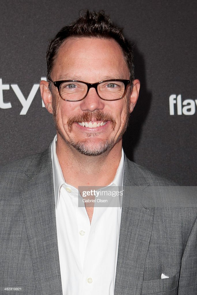 Matthew Lillard attends The Hollywood Foreign Press Association (HFPA) And InStyle Celebrates The 2014 Golden Globe Awards Season at Fig & Olive Melrose Place on November 21, 2013 in West Hollywood, California.