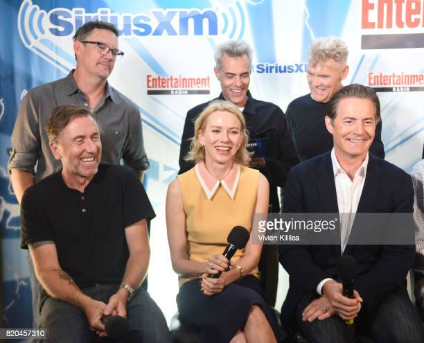 Matthew Lillard Dana Ashbrook James Marshall Everett McGill Tim Roth Naomi Watts and Kyle MacLachlan attend SiriusXM's Entertainment Weekly Radio...