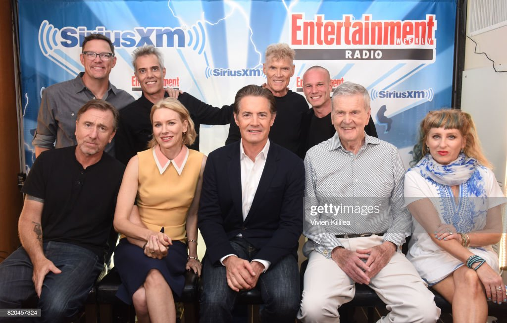 Matthew Lillard, Dana Ashbrook, James Marshall, Tim Roth, Everett McGill, Naomi Watts, Kyle MacLachlan, Don Murray and Kimmy Robertson attend SiriusXM's Entertainment Weekly Radio Channel Broadcasts From Comic Con 2017 at Hard Rock Hotel San Diego on July 21, 2017 in San Diego, California.
