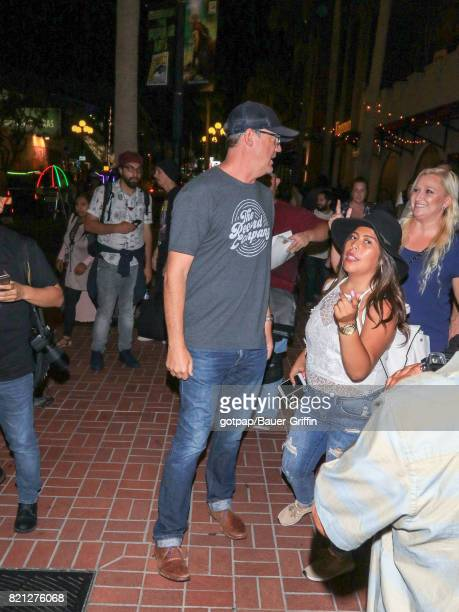 Matthew Lillard is seen on July 22 2017 in San Diego California
