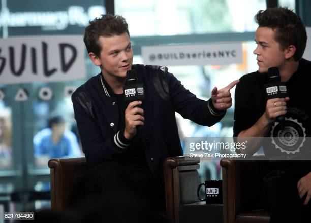 Matthew Lowe attends Build Series to discuss his new show 'The Lowe Files' at Build Studio on July 24 2017 in New York City