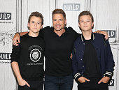 Build Presents Rob Lowe And His Sons Matthew Lowe and...