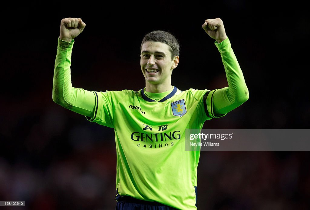 <a gi-track='captionPersonalityLinkClicked' href=/galleries/search?phrase=Matthew+Lowton&family=editorial&specificpeople=8309591 ng-click='$event.stopPropagation()'>Matthew Lowton</a> of Aston Villa during the Barclays Premier League match between Liverpool and Aston Villa at Anfield on December 15, 2012 in Liverpool, England.