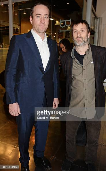 Matthew Macfadyen and director Ben Hopkins attend a screening of 'Lost In Karastan' during the 4th annual LOCO London Comedy Film Festival at BFI...