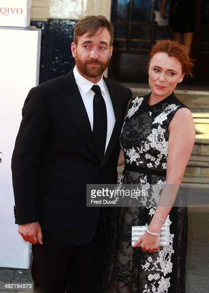 Matthew Macfadyen and Keeley Hawes attend the Arqiva British Academy Television Awards at Theatre Royal on May 18 2014 in London England