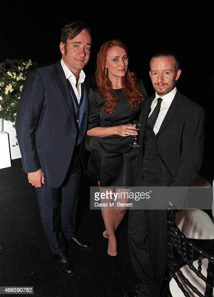 Matthew Macfadyen Keeley Hawes and Anthony Byrne attend the BFI London Film Festival IWC Gala Dinner in honour of the BFI at Battersea Evolution...