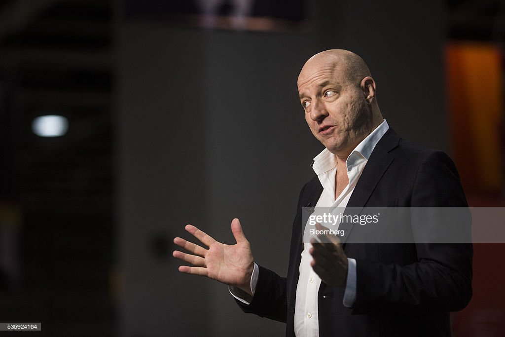 Matthew Matt Barrie, chairman and chief executive officer of Freelancer Ltd., speaks during a Bloomberg Television interview at the Rise conference in Hong Kong, China, on Tuesday, May 31, 2016. The conference runs through June 2. Photographer: Justin Chin/Bloomberg via Getty Images
