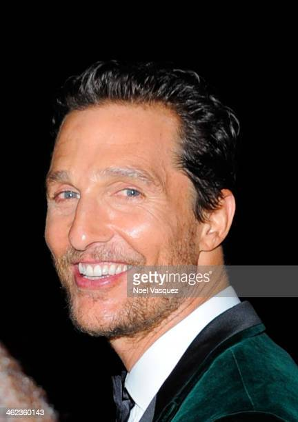 Matthew McConaughey attends NBC Universal's 71st Annual Golden Globe Awards After Party at The Beverly Hilton Hotel on January 12 2014 in Beverly...