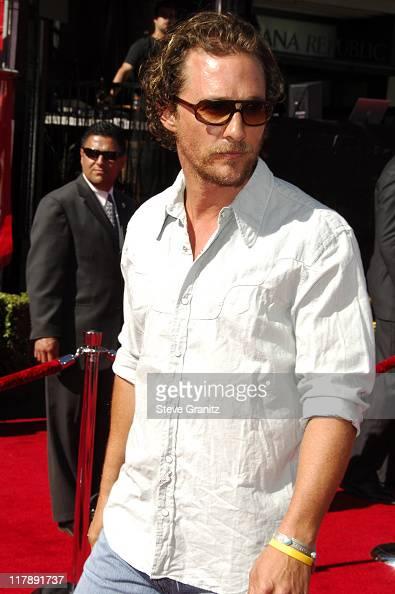 Matthew McConaughey during 2006 ESPY Awards Arrivals at Kodak Theatre in Los Angeles California United States